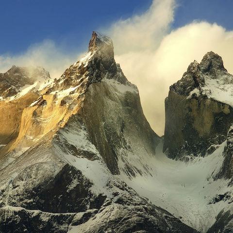 Mirador Cuernos im Torres del Paine Nationalpark, Chile