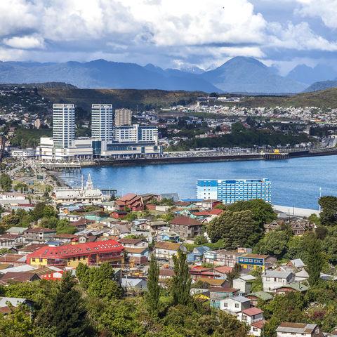 Die Stadt Puerto Montt, Chile