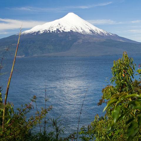 Vulkan Osorno und See Todos los Santos, Chile