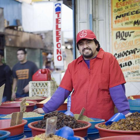 Verkäufer in Santiago de Chile, Chile