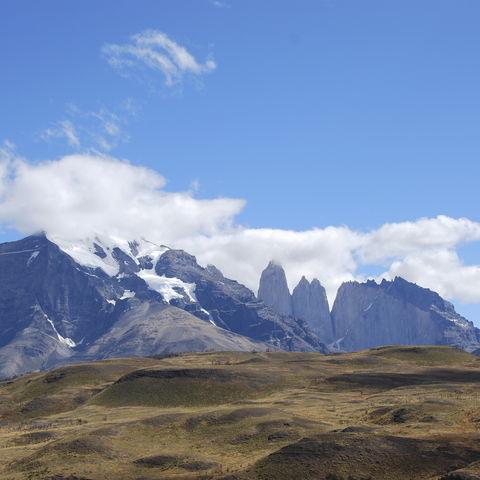 Blick auf Las Torres, Chile