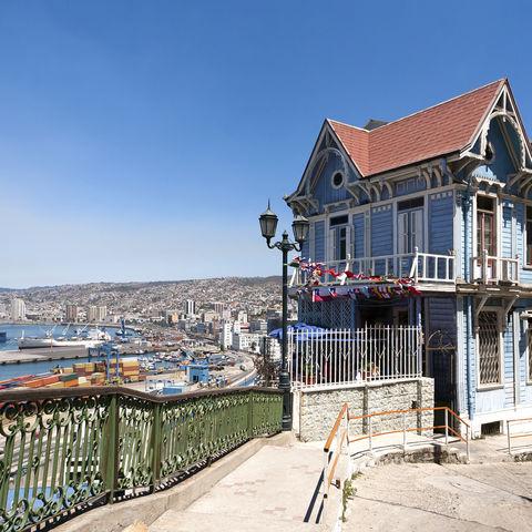 Hafenstadt Valparaíso, Chile