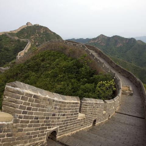 Jinshanlin, die chinesische Mauer 150km von Peking, China