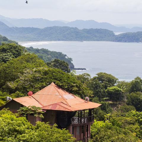 Ausblick auf den Golf von Nicoya, Costa Rica