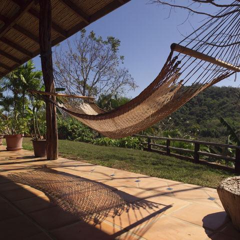 Entspannung in einer Hängematte, Costa Rica