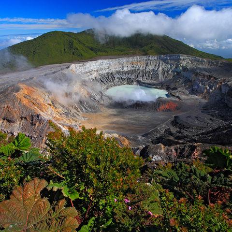Wanderung zum Kratersee des Vulkans Poás, Costa Rica
