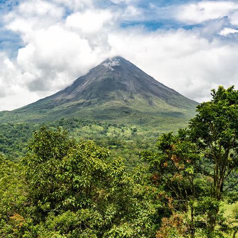 Der über alles thronende Vulkan Arenal, Costa Rica