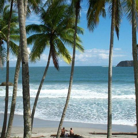 Paradisischer Strand, Costa Rica