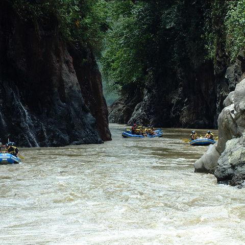 Wildwasser-Rafting in Turrialba, Costa Rica
