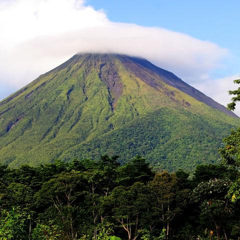 Ausblick auf den Vulkan Arenal, Costa Rica