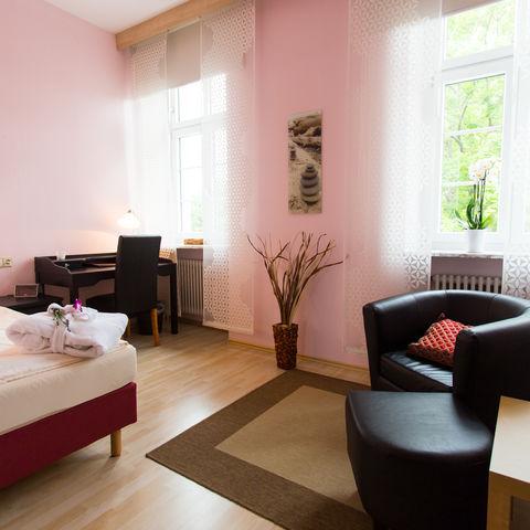 Zimmer im Ayurveda Garden @NEUEWEGE, Ayurveda