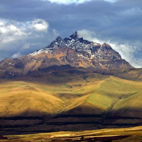 Ein Vulkan ist beeindruckender als der nächste: der Sincholagua Vulkan im Cotopaxi Nationalpark, Ecuador