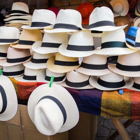 Stammen ursprünglich gar nicht aus Panama, sondern aus Ecuador: Panama-Hüte, Ecuador