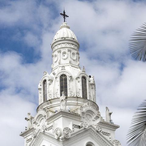 Kathedrale am Plaza Grande in Quito, Ecuador