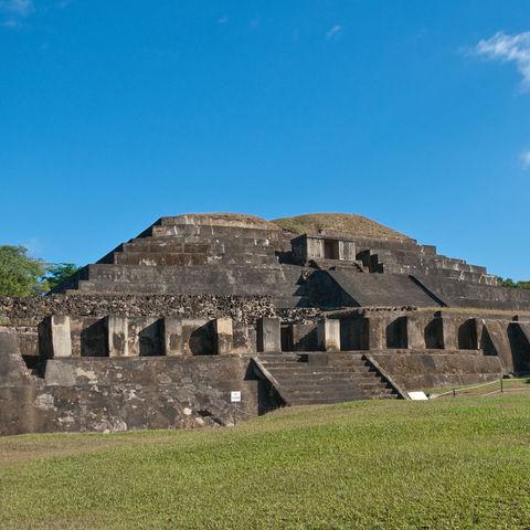 Mayastätte in Tazumal, El Salvador