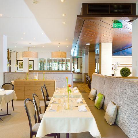 Restaurant im Hotel Kunzman @NEUE WEGE, Ayurveda