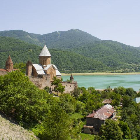 Festung von Ananuri, Georgien