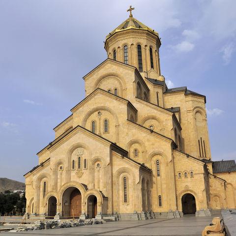 Sameba-Kathedrale in Tbilisi, Georgien