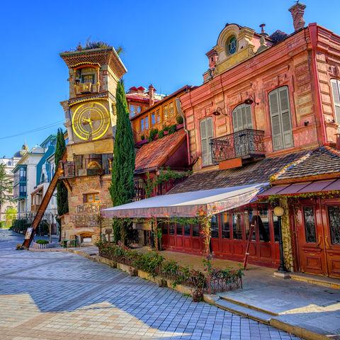 Altstadt von Tiflis, Georgien
