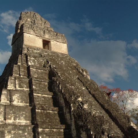 Maya-Tempel von Tikal, Guatemala