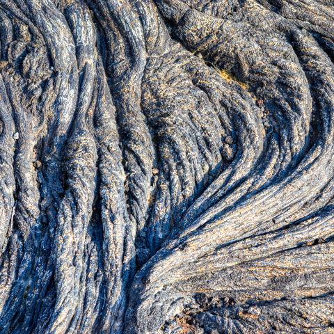 Getrockneter Lava so nah: Hawaii Volcanoes National Park, Big Island, Hawaii