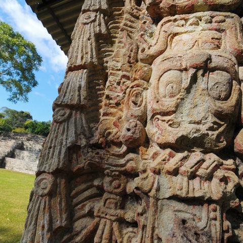 Die Ruinen Copáns, Honduras