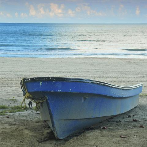 Fischerboot, Honduras
