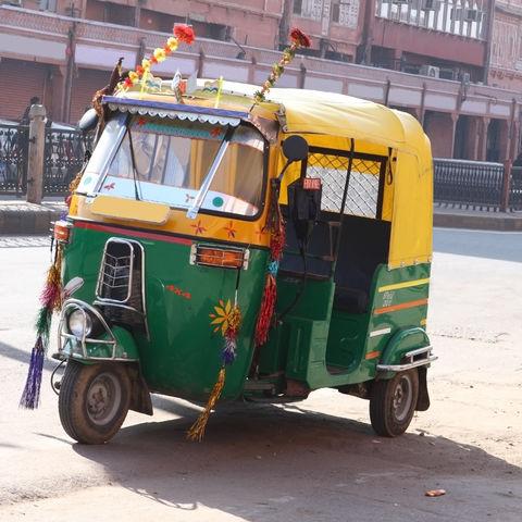 Tuk Tuk in Jaipur, Indien