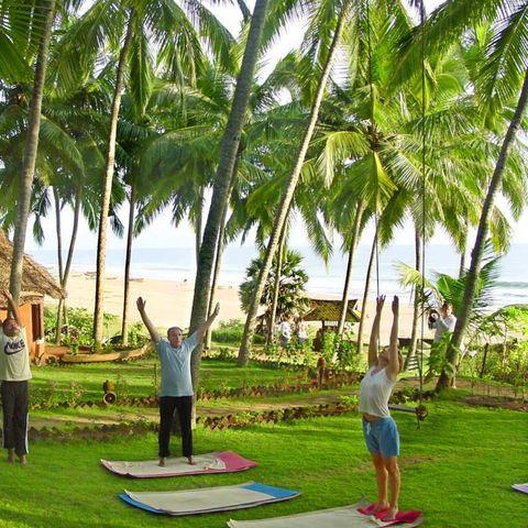 Yoga und Meditation Übungen, Indien