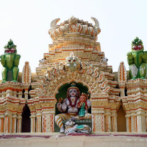 Bull-Tempel in Bangalore, Indien