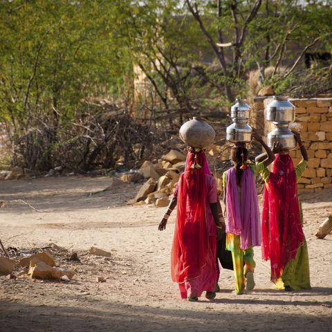 Ländliches Leben, Indien