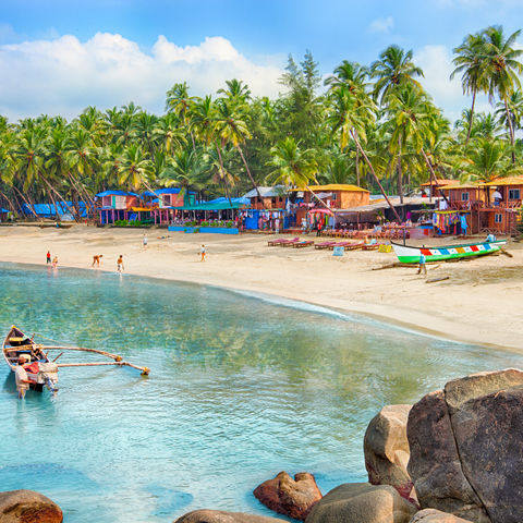 Palolem Beach, Indien