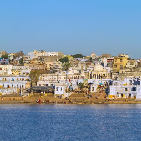 Panorama von Jaipur, Indien