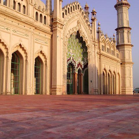 Die historische Jama-Moschee, Indien