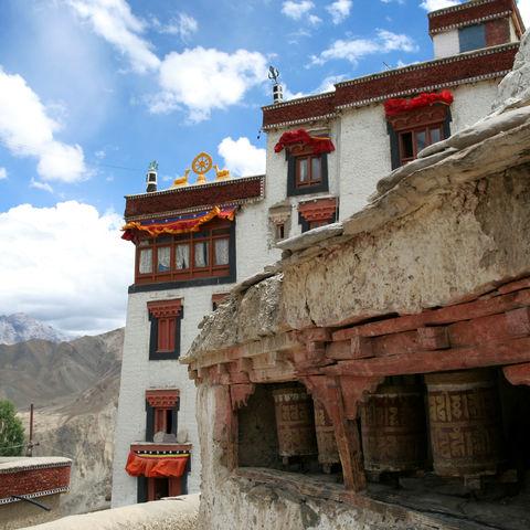 Lamayuru Kloster in Ladakh, Indien