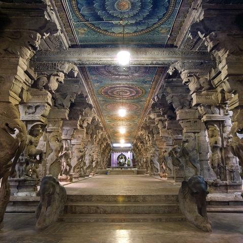 Sundareshvera-Hindu-Tempel in Madurai, Indien
