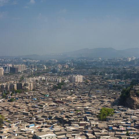 Slum in Mumbai, Indien
