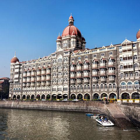 Taj Mahal Hotel in Mumbai, Indien