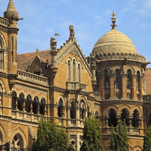 Victoria Terminus Bahnhof in Mumbai, Indien