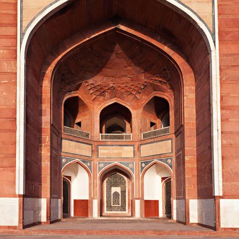 Humayun-Mausoleum in Neu-Delhi, Indien