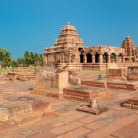 Tempel in Pattadakal, Indien