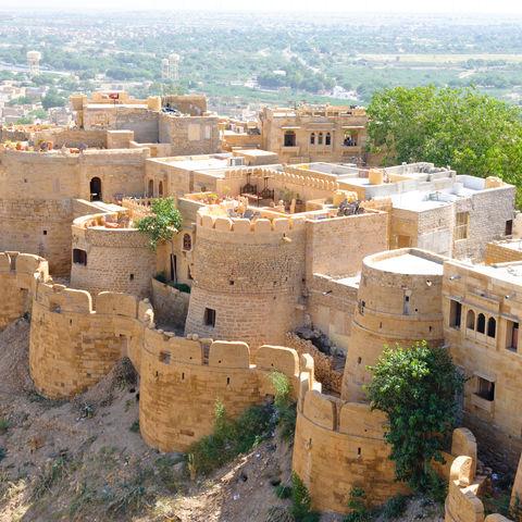Die Jailsamer Forts, Indien