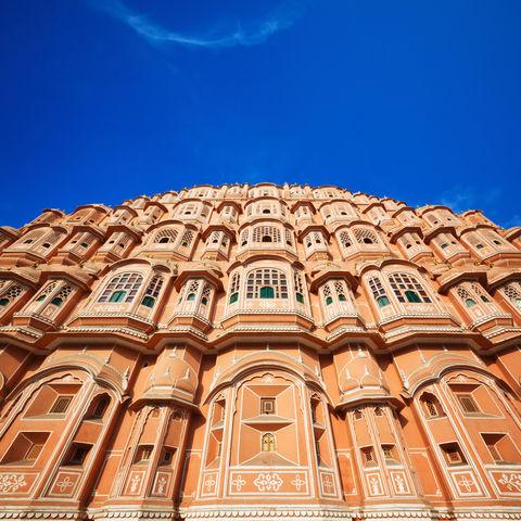 Palast der Winde in Jaipur, Indien