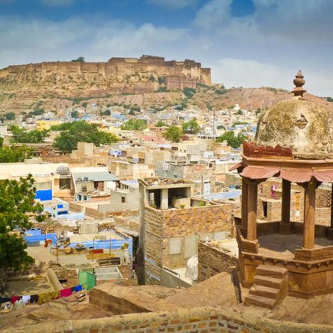 Panorama von Jodhpur, Indien