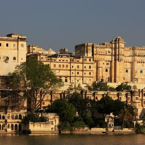 Stadtpalast in Udaipur, Indien