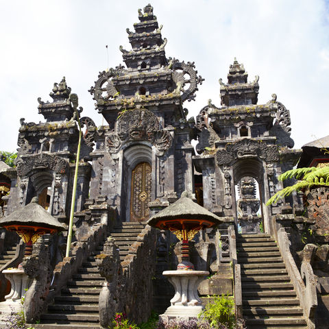 Pura Gelap am Besakih Komplex, Bali, Indonesien