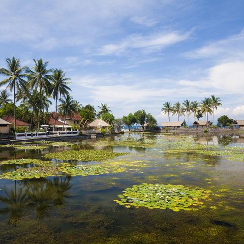 Umgebung von Candidasa, Indonesien