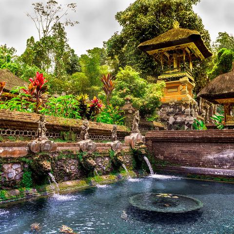 Vielleicht Balis schönster Tempel? Gunung Kawi Sebatu, Indonesien