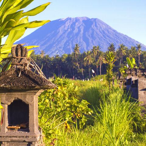 Höchste Erhebung der Insel: Mount Agung, Bali, Indonesien