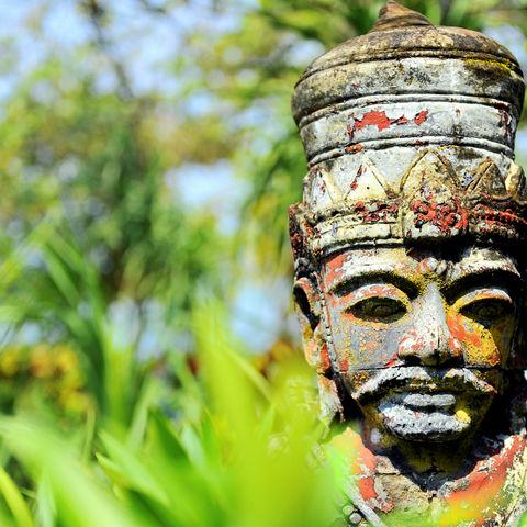 Hinduistische Statue, Indonesien